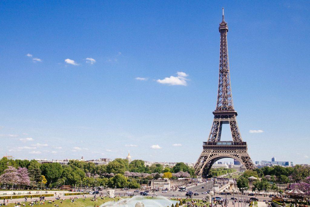 Paris en taxi - Tour Eiffel